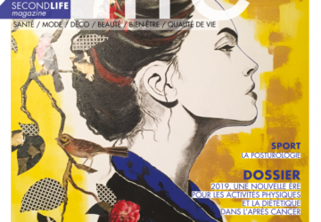 la couverture du magazine second life