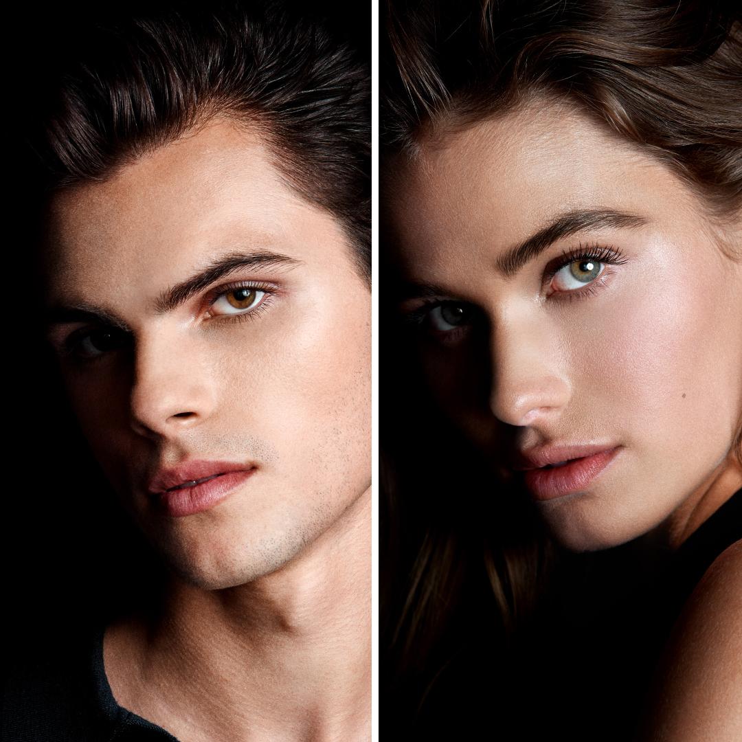 modèles de sourcils, hommes et femmes